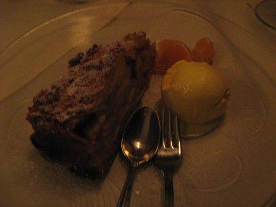 Przy Zamku: Dessert : tarte aux pommes