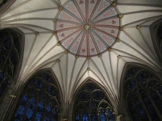 Catedral de York: Roof of the Chapter House
