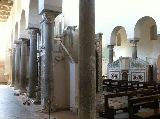 Duomo di Ravello : Cattedrale di Ravello, interno