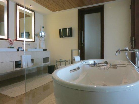 The Oberoi, Mumbai : Bathroom with TV