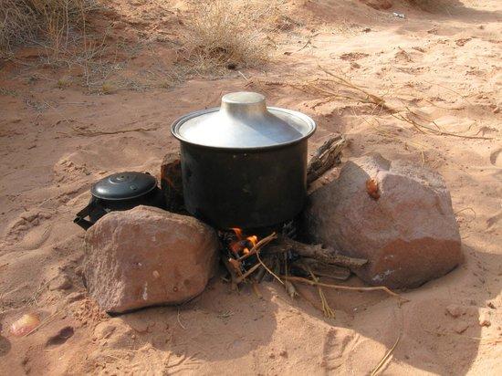 Bedouin Directions: Lunch in the desert