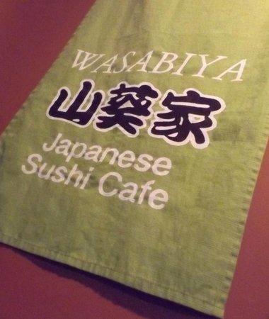 Wasabiya Japanese Sushi Cafe: Simple decor...