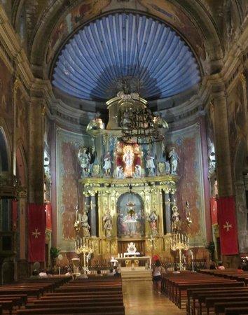 Placa Major: Pollenca Church