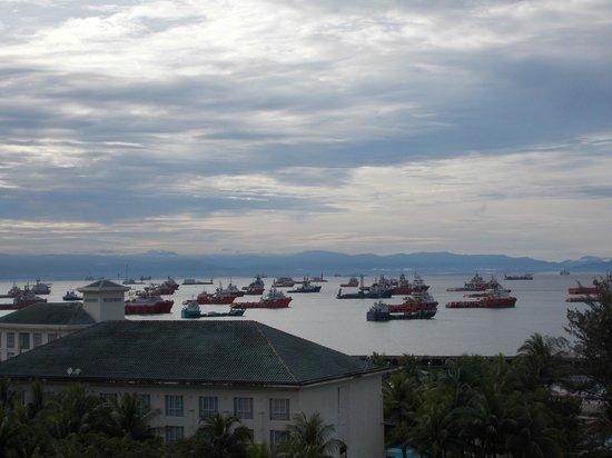 Dorsett Grand Labuan: View from Balcony