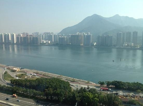 Hyatt Regency Hong Kong, Sha Tin : view from club lounge