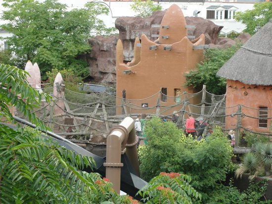 Hotel Village Matamba: Aussicht in den Park