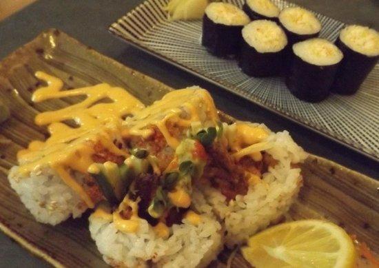 Wasabiya Japanese Sushi Cafe: Rolls - Lobster chop & Kamikaze