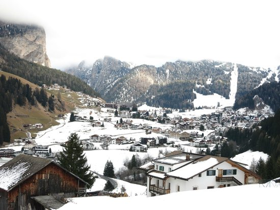 Granvara Relais & Spa Hotel: Upon arrival, just before heavy snowfall