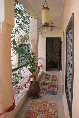 Riad Oasissime : balcon