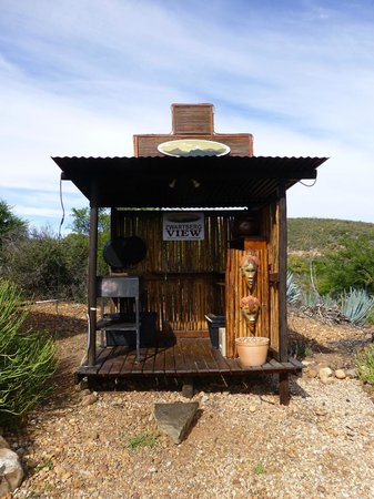 Zwartberg View Mountain Lodge : Die Außenküche
