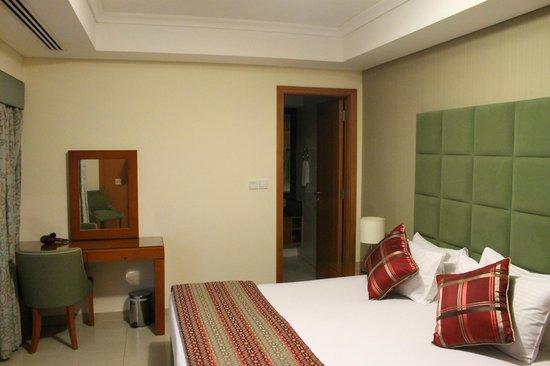 Al Salam Hotel Suites : Camera da letto