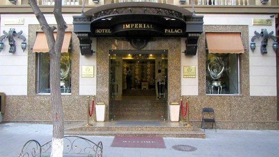 Imperial Palace Hotel: Entrada bonita