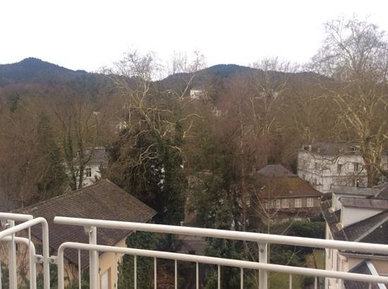 Leonardo Royal Hotel Baden-Baden : view from the 412