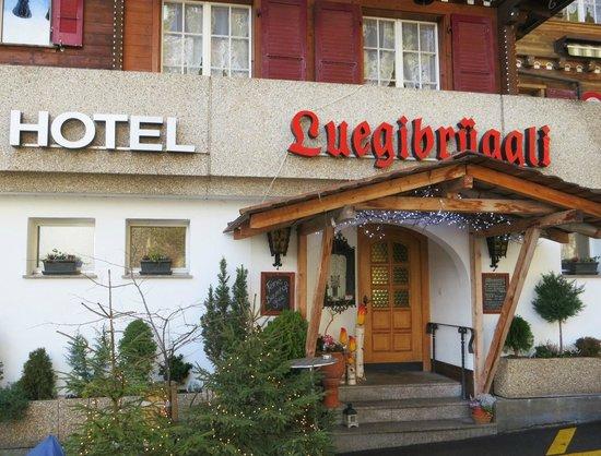 Restaurant Luegibrüggli: Eingangsbereich