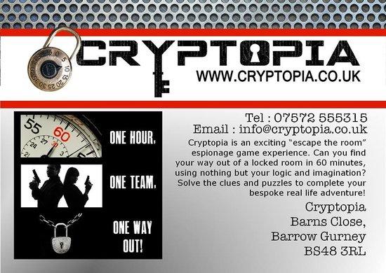 flyera foto di cryptopia bristol tripadvisor