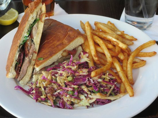 The Royal Scam: Roasted Duck Panini