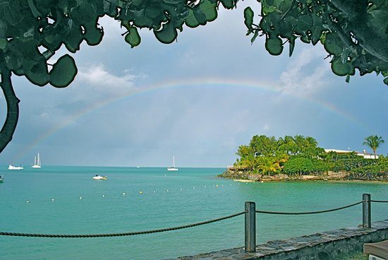Grand Case Beach Club: somewhere over the rainbow