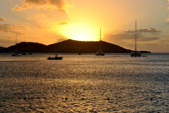Grand Case Beach Club : sunset
