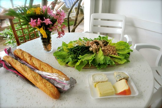 Grand Case Beach Club : lunch on patio