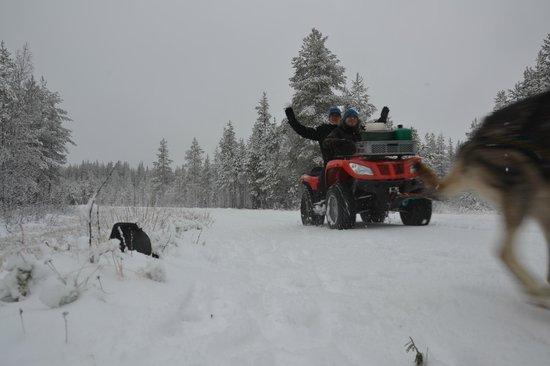 Burning Snow: Training mit Quad
