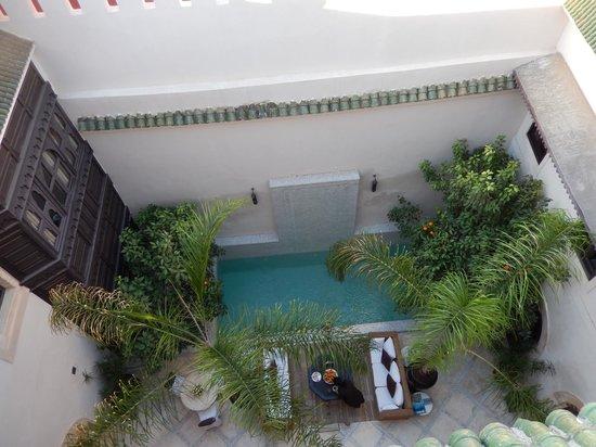 Riad Kheirredine : patio