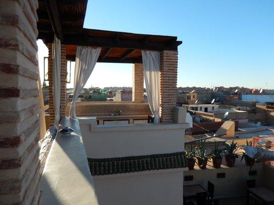 Riad Kheirredine : terrasse avec vue à 360°