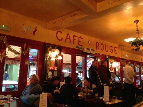 Cafe Rouge: Inside