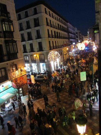 Hotel Francisco I: The street