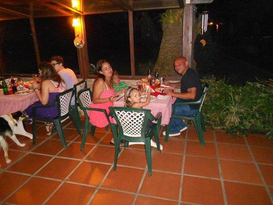 Alpenhaus Gasthaus: Hermosa mesa familiar de fin de año
