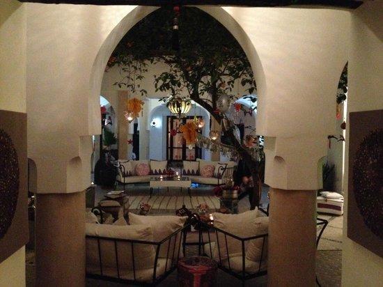 Dar Charkia: Courtyard