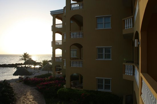 The Strand Curacao: View from Balcony