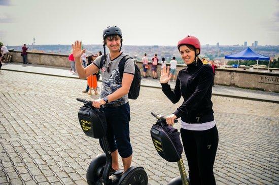Prague On Segway, on E-Scooter, on Quad : Всем привет! :)