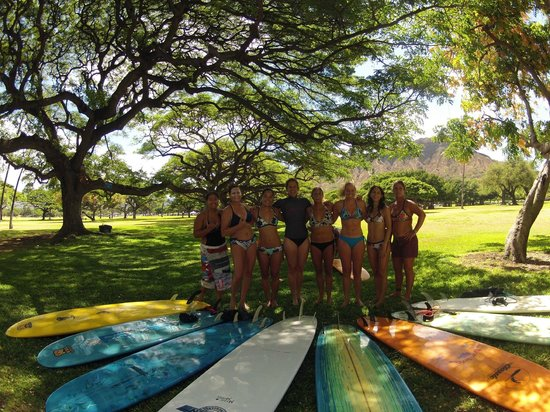 Kristy Murphy's Siren Surf Adventures: Kapiolani Park, Oahu, Hawaii