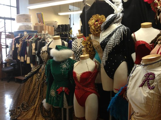 Radio City Music Hall Stage Door Tour : The Rockettes' costume shop!
