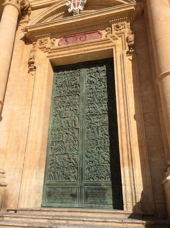 Late Baroque Towns of the Val di Noto : The Cathedral's door