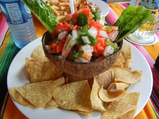 Rose's Grill & Bar: BEST. CEVICHE. EVER!