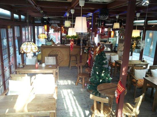 Happy Dragon Hostel: Happy Dragon cafe (malaysia):-)