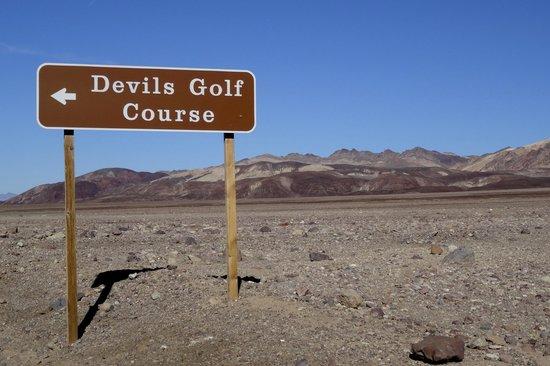Devil's Golf Course: Devils Golf Course, Death Valley National Park, California