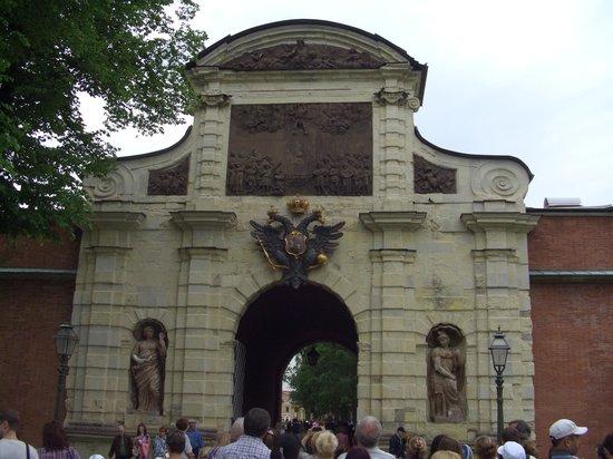 Peter and Paul Fortress (Petropavlovskaya Krepost): porta interna