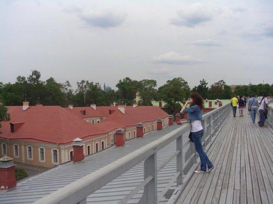Peter and Paul Fortress (Petropavlovskaya Krepost): promenade