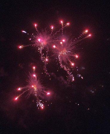 Banwell Castle: Fireworks