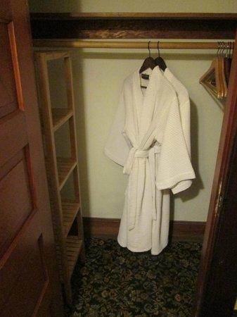 Evermore Guesthouse: Your own bath robes