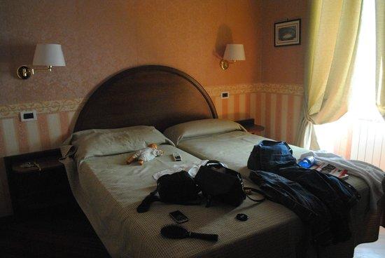 Hotel St. Moritz : Chambre