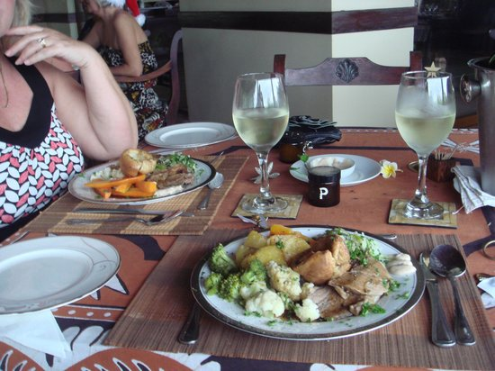 Asian Jewel Boutique Hotel: Christmas Dinner