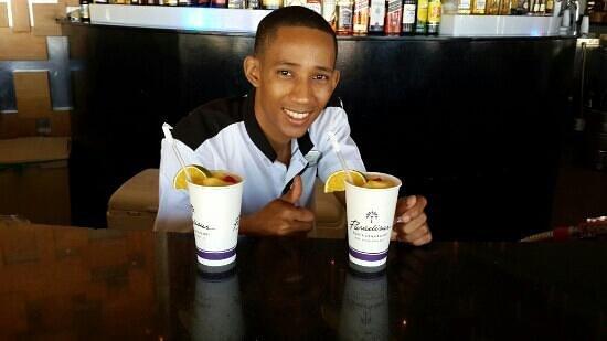 Paradisus Punta Cana : erik david, el mejor barman del paradisus