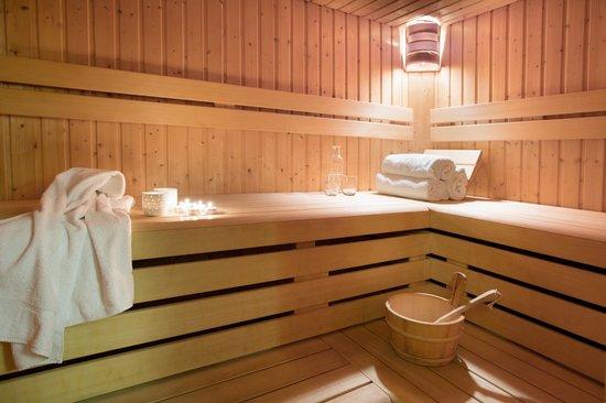 Residence L'Aiglon de Morzine: Our large sauna