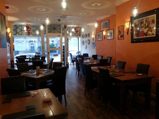 Mr B's Bistro.  Opened two  weeks ago