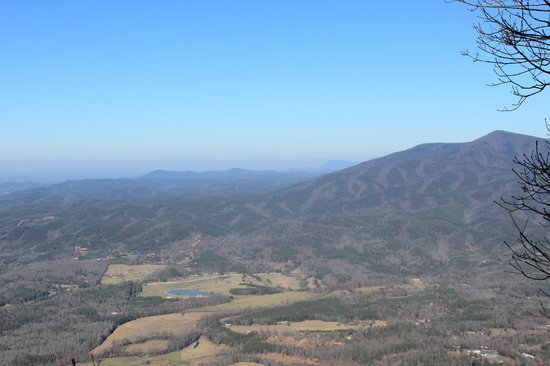 Fort Mountain State Park: View from the overlook