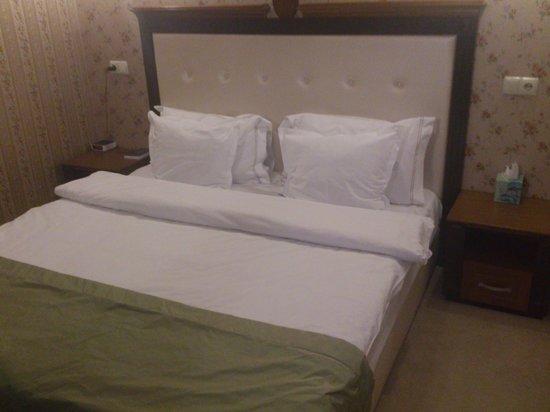 Best Western Plus Bristol Hotel: Cama de matrimonio