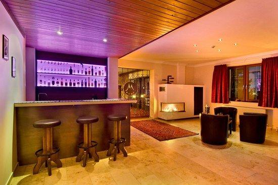 Hotel Garni Mössmer: Lounge